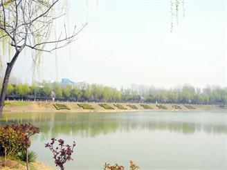 拥览千亩湿地公园,悦享北城生态新居!