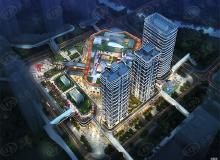 盐田地理中心 多种业态于一体的佳兆业御璟佳园广场